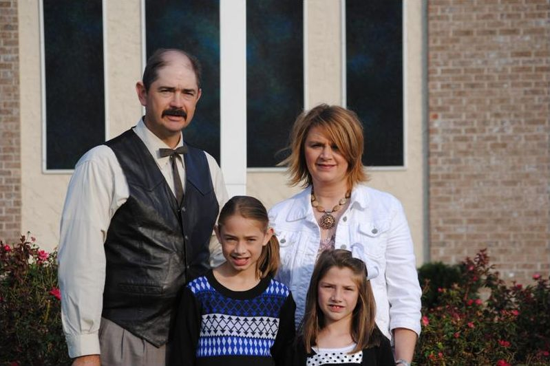 pastor Aaron Revis and his Family